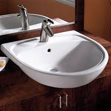 Toto Pedestal Sink Home Depot by Mezzo Semi Countertop Bathroom Sink American Standard