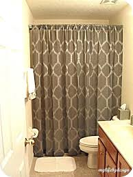 Curved Curtain Rod Kohls by Dark Vanity With Mirrored Vanity And Curved Paisley Shower Curtain