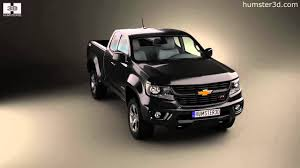Chevrolet Colorado Extended Cab 2014 By 3D Model Store Humster3D.com ...