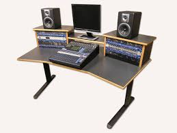 Recording Studio Desk Home Fascinating Design