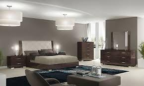 schlafzimmer set komplett 6 tl eiche braun hochglanz