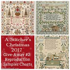 A Stitcher s Christmas 2 Reproduction Samplers for Three