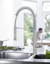 robinet de cuisine hansgrohe grohe robinet de cuisine k7 bec medium douchette professionnelle