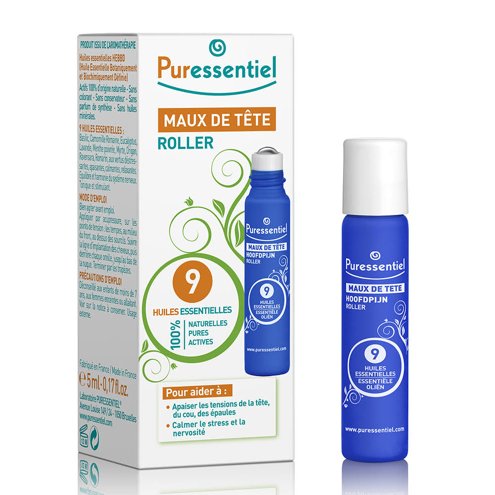Puressentiel Headache Roll-On - 5ml