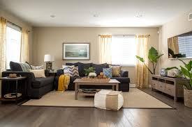 coastal living room makeover hgtv