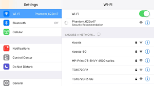 Can t connect to Phantom wifi network