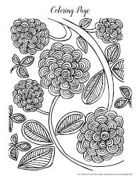 Detailed Coloring Pages Nature Download Free Spring Adults Today Color Pretty Flowers Intricate Designs Pdf Online