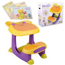 bureau pour bébé bureau table plastique hugo 19 bureau pupitre bebe et enfant parlant
