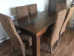 Large Dining Table With 6 Wicker Chairs | In Poole, Dorset | Gumtree Wicker Ding Room Chairs Sale House Room Marq 5 Piece Set In Brick Brown With By Mfix Fniture Durham Outdoor 7 Acacia Wood Christopher Knight Home Invite Friends And Family To Your Outdoor Ding Space Round Kitchen Table With It Would Be Nice If Solid Bermuda Pc Side Model 1421set1 South Sea Rattan A Synthetic Rattan Outdoor Ding Table And Six Chairs 4 High Back 18 Months Old Lincoln Lincolnshire Gumtree Amazoncom Direct Pieces Allweather Sahara 10 Seat Teak Top Kai Setting