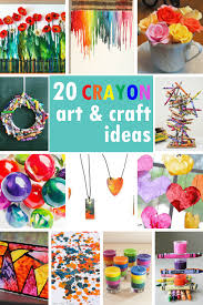 A Roundup Of Tutorials To Make Crayon Art Crafts And Melted Activities