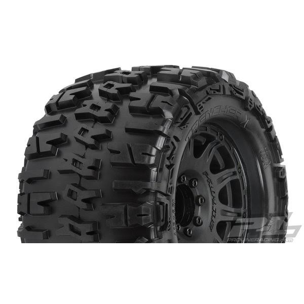 Proline Racing PRO118410 3.8 in. Trencher x All Terrain Tire Black