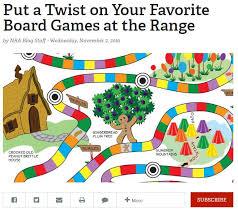 NRA Repurposes Kids Board Game Candy Land As Shooting Target