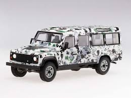 100 Defender Truck 143 TSM Land Rover CNN Armoured Pizza Street Model