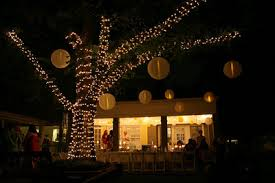 Outdoor Wedding Reception Ideas Lighting