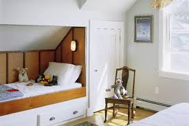 A Corner Under The Eaves Becomes Bed Nook Making Most Of