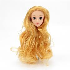 Questions And Answers Barbie Doll Hair For Sale
