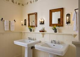 Half Bathroom Ideas With Pedestal Sink by An Introduction To Bathroom Vanity Cabinets And Sinks