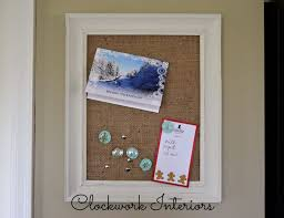 Making Bulletin Boards Out Of Old Picture Frames Is Nothing New Cheap And They