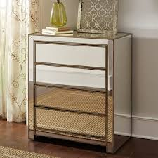 alexa mirrored chest furniture ideas hollywood glamour bedroom