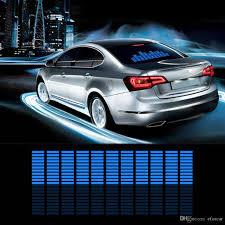 Car Auto Music Rhythm Changed Jumpy Sticker LED Flash Light Lamp ...
