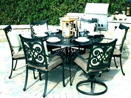Round Outdoor Dining Set Circular Seating Table And Chairs Affordable