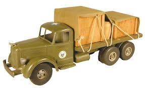 Smith-Miller Toy Truck, Original United States Army Supply Mack ...