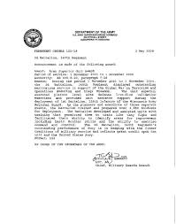 Military Awards And Decorations Records by Superior Unit Award Wikipedia