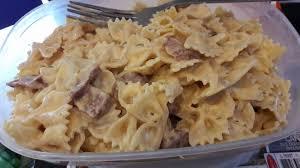 boursin cuisine recettes pâtes au chorizo et au boursin recettes cookeo