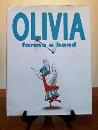100 Rocking Chair With Books Olivia Forms A Band By Ian Falconer First Edition Childrens
