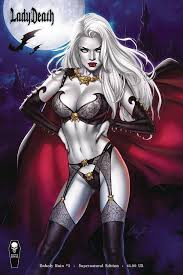 In An Effort To Rescue Her Mother Lady Death Has Invaded Gore Galore A Murderous Reality Show Televised Throughout Hell And Now It Appears Former