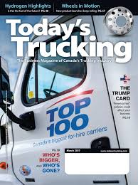 Today's Trucking March 2017 By Annex-Newcom LP - Issuu