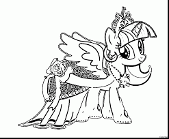 My Little Pony Coloring Pages Twilight Sparkle Alicorn 2513160