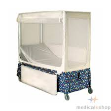 pedicraft canopy enclosed bed with head elevation pedicraft