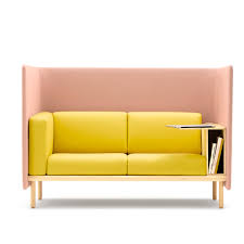 100 Cor Sofa Modular Sofa Contemporary Fabric Wooden FLOATER By Pauline Deltour COR