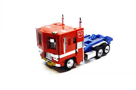 100 Optimus Prime Truck Model LEGO TRANSFORMERS Lego Creations By Orion Pax