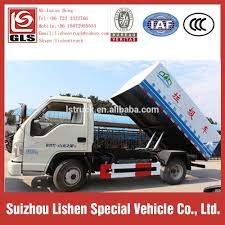 China New Dump Garbage Truck Self-Loading Small Rubbish Truck ...