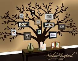 family tree wall magnetic with different colors home decor