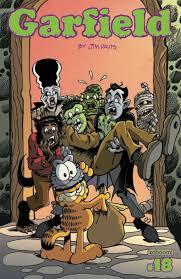 Garfields Halloween Adventure Dvd by 100 Halloween Comic Book Covers