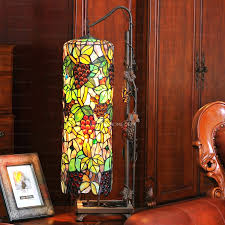 Home Depot Tiffany Hanging Lamp by Floor Lamps Stained Glass Torchiere Lamp Shades Stained Glass