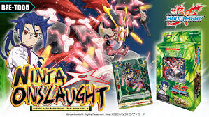 buddyfight trial deck 5 trial deck vol 5 onslaught future card buddyfight