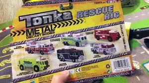 Toy Cars For Kids - Street Vehicles Toys Classic Steel Tonka Trucks ...