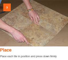 Stainmaster Vinyl Tile Castaway by Trafficmaster Groutable 18 In X 18 In Light Travertine Peel And