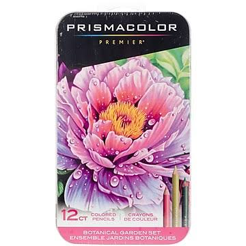 Prismacolor Botanical Garden Colored Pencil Set - 12 count