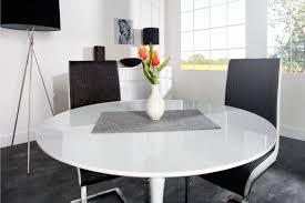 table de cuisine ronde en verre table à manger ronde extensible table cuisine newbalancesoldes