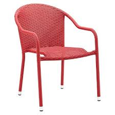 stackable wicker patio chairs Tar
