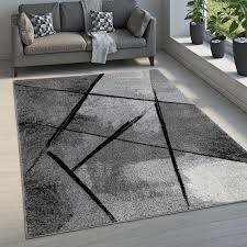 teppich esszimmer abstraktes muster kariert