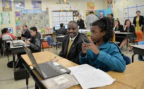 Vcu Blackboard Help Desk by U S Secretary Of Education Gets Firsthand Look At Richmond