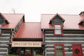 Places to Eat in Knoxville Tennessee ↠ Apple Tea Cake Room