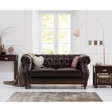100 2 Sofa Living Room Highgrove Brown Leather Seater