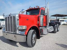 USED 2009 PETERBILT 389 TANDEM AXLE DAYCAB FOR SALE IN TX #2585